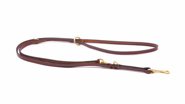 product photo adjustable lead brown frontview