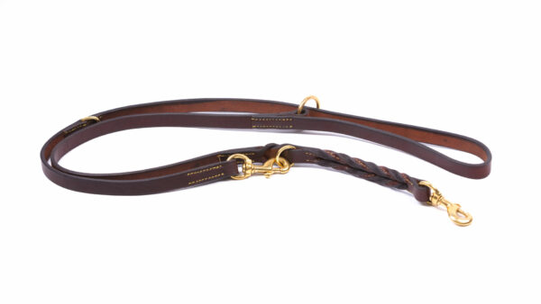 product photo adjustable lead brown extra traffic tag